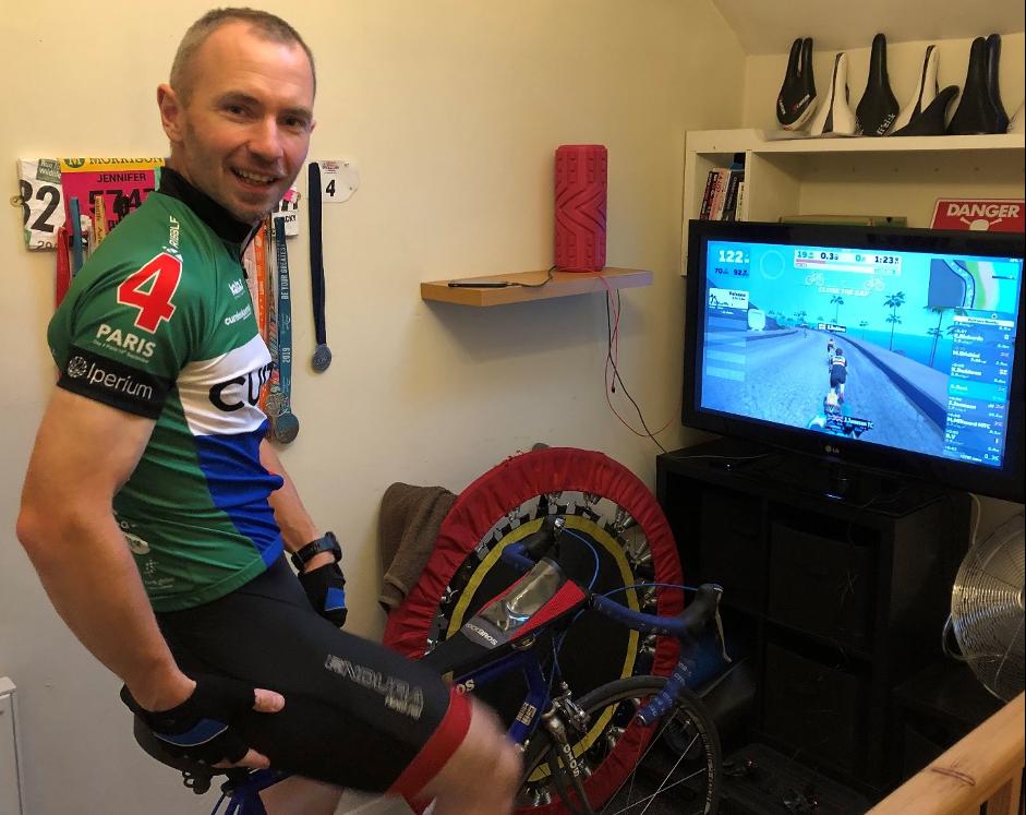 Pedal power for 500km trek for leukaemia cause